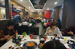业务团队聚餐