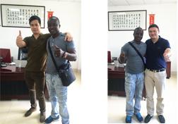 国外长期合作伙伴照片