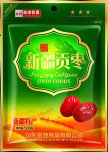 自立红枣袋